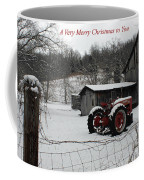 The Old Family Farm Christmas Card Coffee Mug