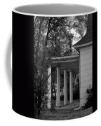 The Old Homestead In Black And White Coffee Mug