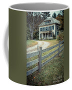 The Old House On The Hill  Coffee Mug