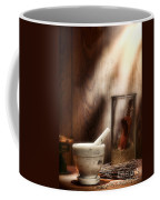 The Old Lavender Artisan Shop Coffee Mug by Olivier Le Queinec