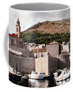 The Old Port Under The Ramparts Coffee Mug