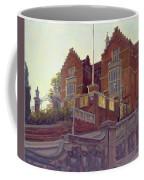 The Old Schools, Harrow Oil On Canvas Coffee Mug