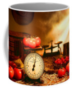 The Old Tomato Farm Stand Coffee Mug by Olivier Le Queinec