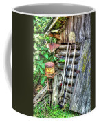 The Old Tool Shed Coffee Mug by Lanita Williams