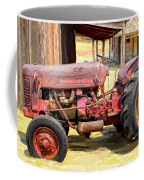 The Old Tractor Coffee Mug by Michael Pickett