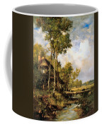 The Old Windmill Near Barbizon Coffee Mug