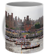 The Olympic Torch Leaves Hampton Court On The Final Leg Of Its J Coffee Mug