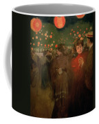 The Open Air Party Coffee Mug by Ramon Casas i Carbo