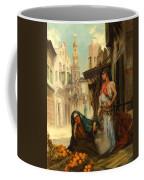 The Orange Seller Coffee Mug by Fabbio Fabbi
