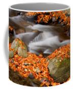 The Orange Stream Coffee Mug