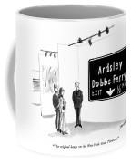 The Original Hangs On The New York State Thruway Coffee Mug