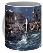 The Original Shamu Orca Sea World San Diego 1967 Coffee Mug