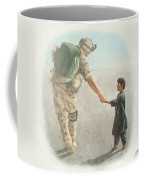 The Outcome Of War Is In Our Hands Coffee Mug