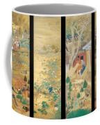 The Outskirts Of Kyoto Throughout The Season Coffee Mug