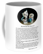 The Owl And The Pussy Cat Coffee Mug by John Chatterley