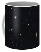 The Owl Nebula And Messier 108 Coffee Mug