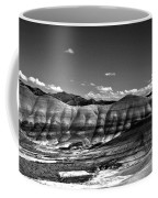 The Painted Hills Bw Coffee Mug