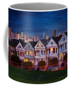 The Painted Ladies Of San Francsico Coffee Mug