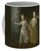 The Painter's Daughters Chasing A Butterfly Coffee Mug