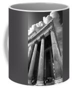 The Pantheon In Rome Bw Coffee Mug