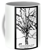 The Park Bench With Scripture Coffee Mug