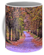 The Park In Autumn Coffee Mug