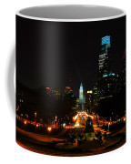 The Parkway At Night Coffee Mug