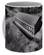 The Parthenon In Black And White Coffee Mug by Dan Sproul