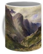 The Pass Of Glencoe, 1852 Coffee Mug by William Bennett