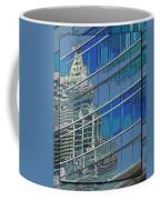 The Past Reflecting On The Present Coffee Mug