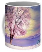 The Pastel Dreams Of Winter Coffee Mug