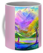 Misty Mountains, Fall Color And Aspens Coffee Mug