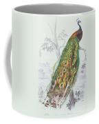 The Peacock Coffee Mug