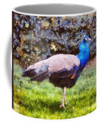 The Peacock Coffee Mug by Pixel  Chimp