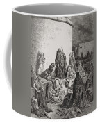 The People Mourning Over The Ruins Of Jerusalem Coffee Mug