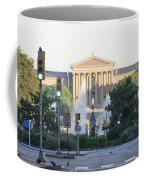 The Philadelphia Art Museum From The Parkway Coffee Mug