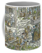 The Physic Garden, 1531 Coffee Mug
