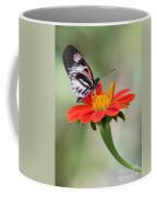 The Piano Key Butterfly Coffee Mug