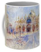 The Piazza San Marco Coffee Mug by Pierre Auguste Renoir