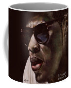 The Pied Piper Of Intrigue - Jay Z Coffee Mug by Reggie Duffie