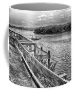 The Pier At Channel 4 Coffee Mug
