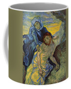 The Pieta After Delacroix 1889 Coffee Mug by Vincent Van Gogh