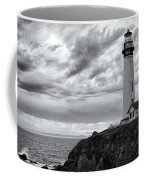 The Pigeon Point Beacon Coffee Mug by Eduard Moldoveanu