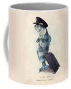 The Pilot Coffee Mug by Eric Fan