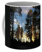 The Pines At Sunset Coffee Mug