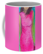 The Pink Dress Coffee Mug