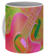 My Pink Guitar Pop Art Coffee Mug