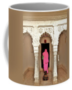 The Pink Sari Coffee Mug