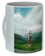The Piper At The Great Glen Coffee Mug