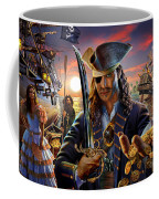 The Pirate Coffee Mug by Adrian Chesterman